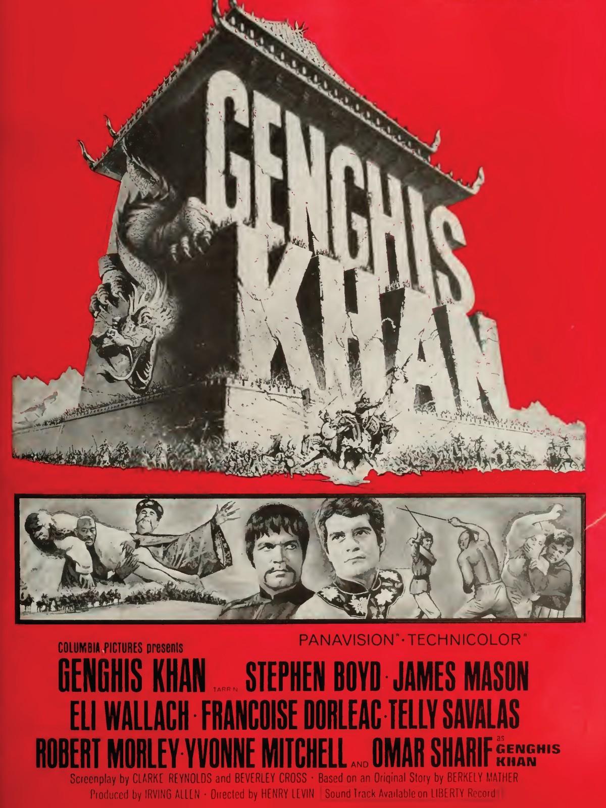 Genghis Khan (1965)****