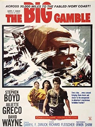 The Big Gamble (1961) ***