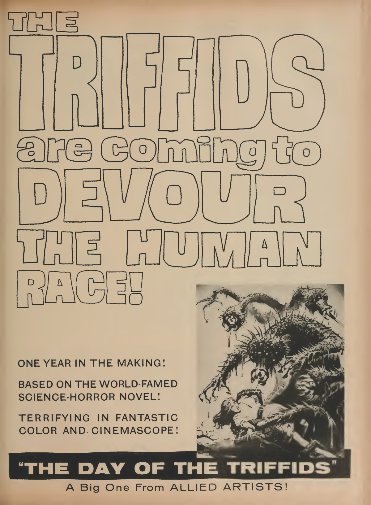 Day of the Triffids (1963)****