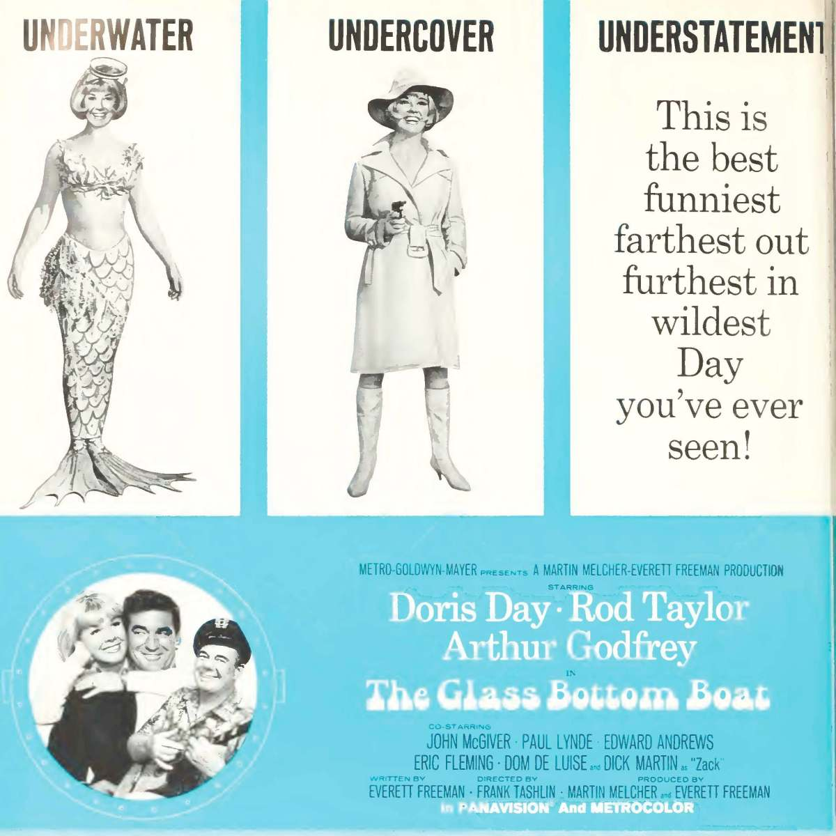 The Glass Bottom Boat (1966)***