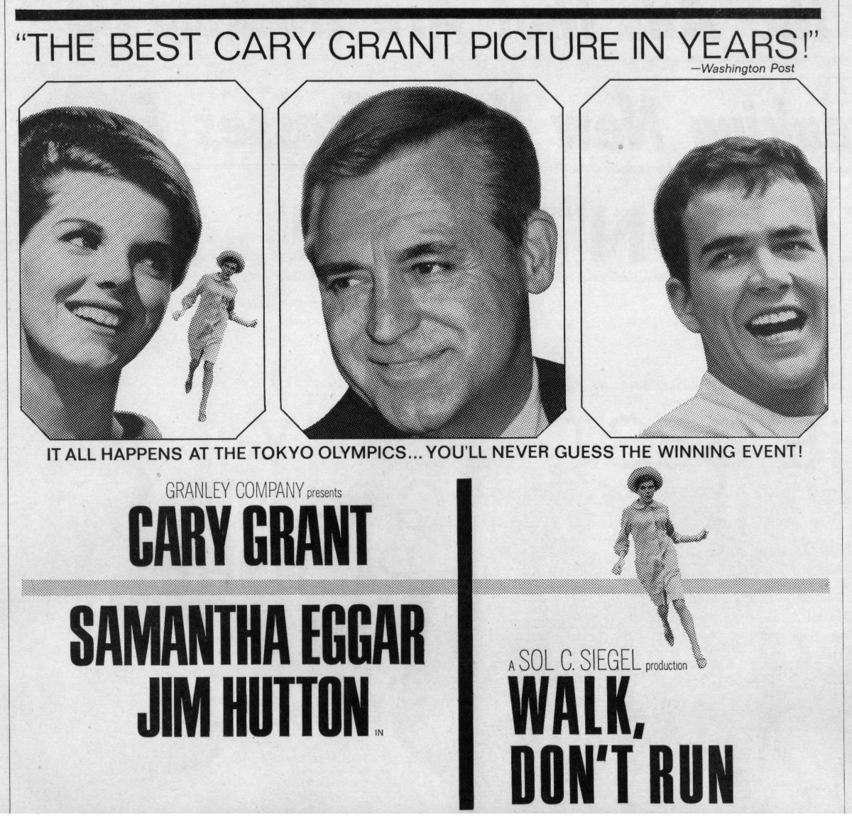 Walk, Don't Run (1966) ***