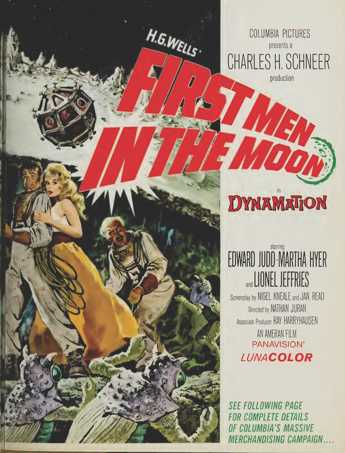 First Men in the Moon (1964) ***