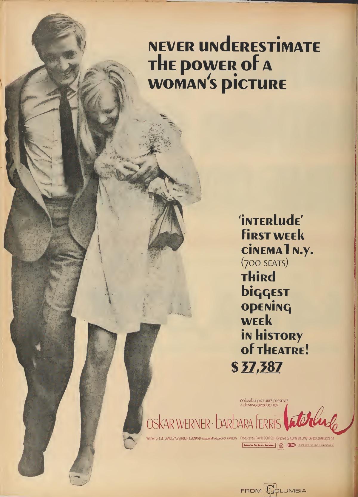 Interlude (1968) ****