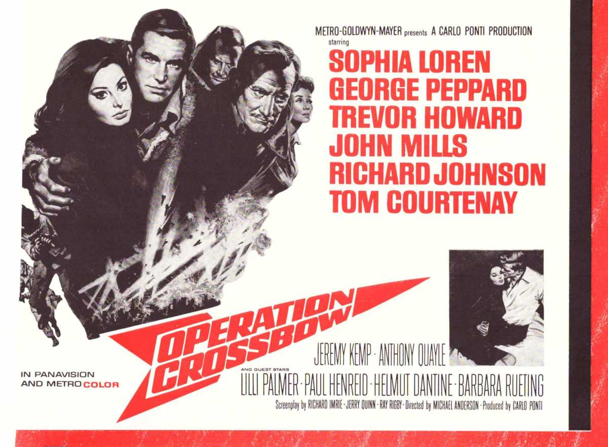 Operation Crossbow (1965) ****