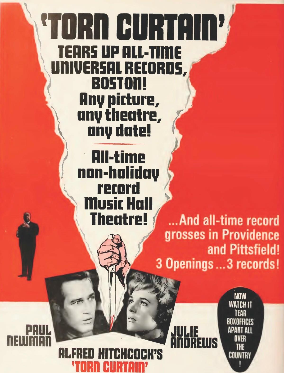 Torn Curtain (1966)****