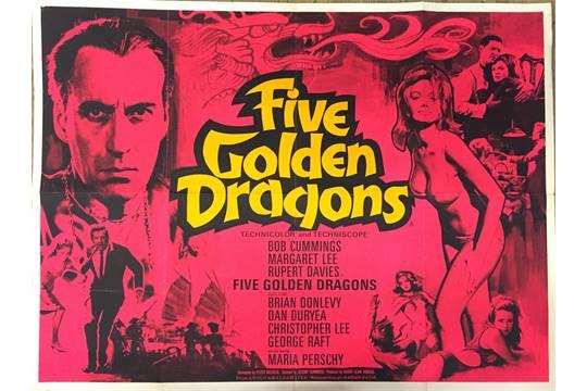 five golden dragons film animation