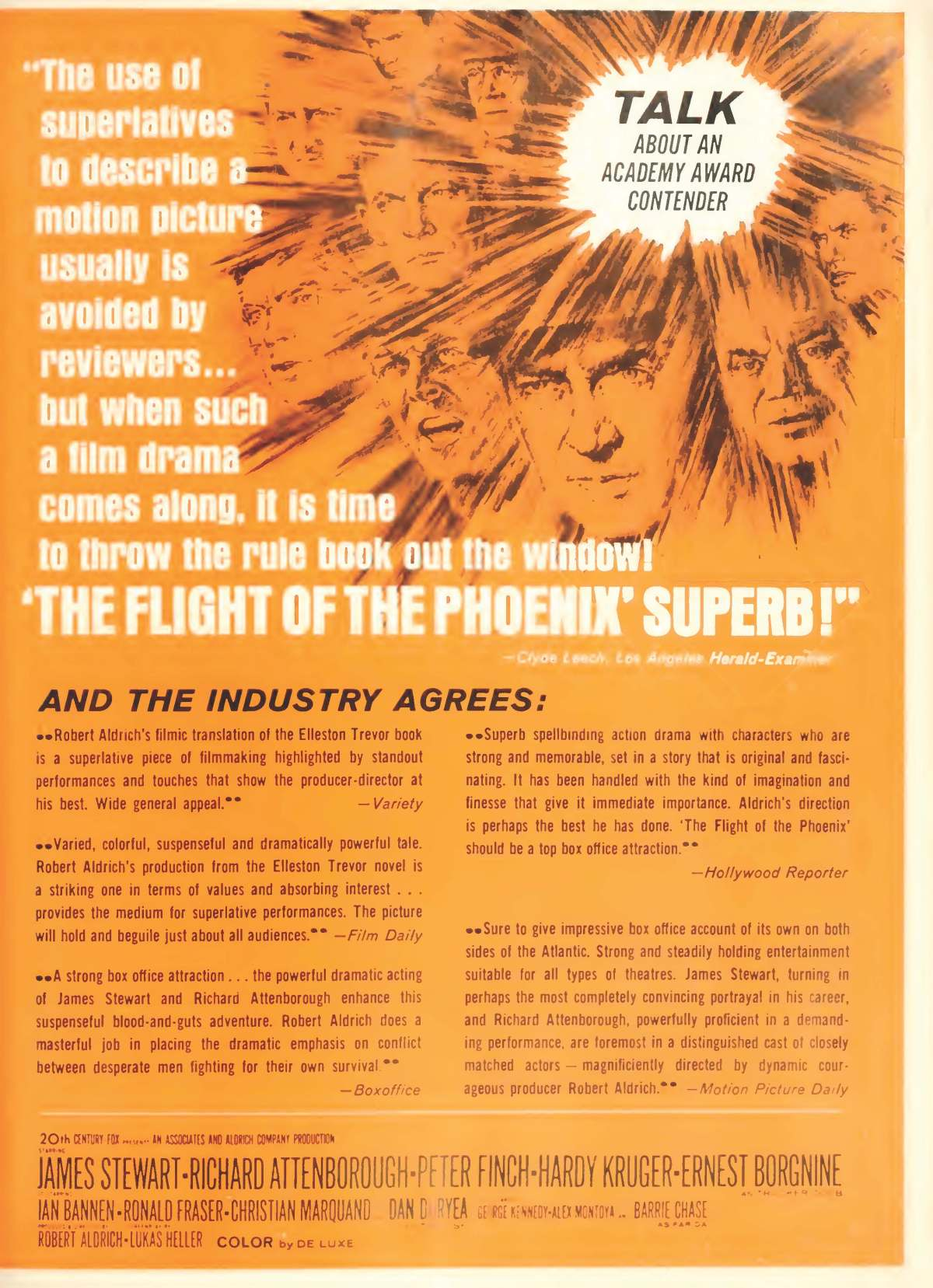 The Flight of the Phoenix (1965) ****