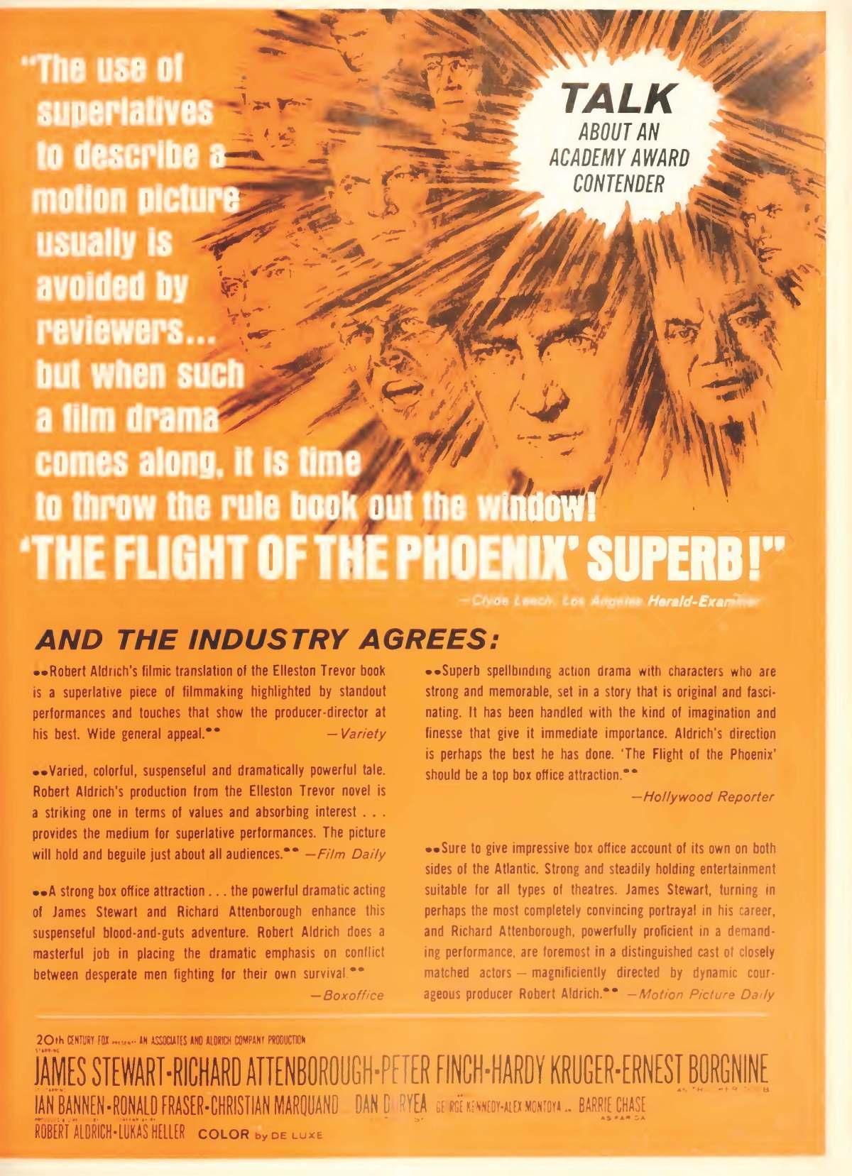 The Flight of the Phoenix (1965)****