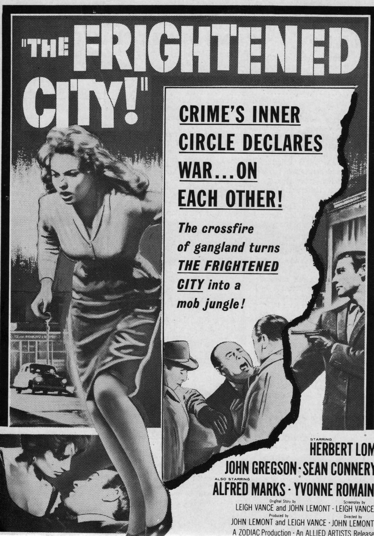 The Frightened City (1961) ***