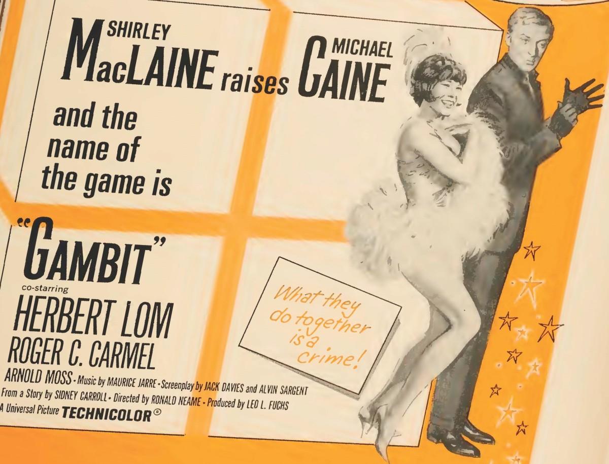 Gambit (1966) ****