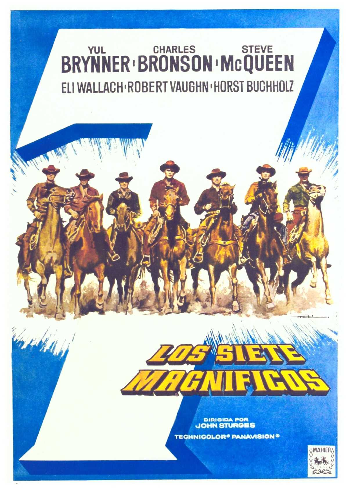 Pressbook – Selling The Magnificent Seven (1960)