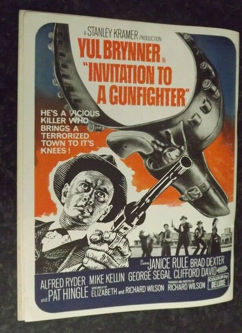 Invitation to a Gunfighter (1964) ****