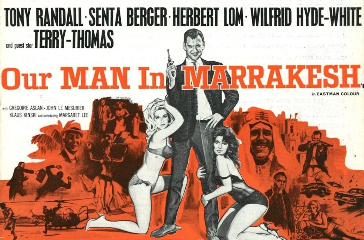 Our Man in Marrakesh aka Bang! Bang! You're Dead! (1966) ***