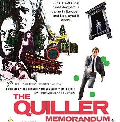 The Quiller Memorandum (1966) ****