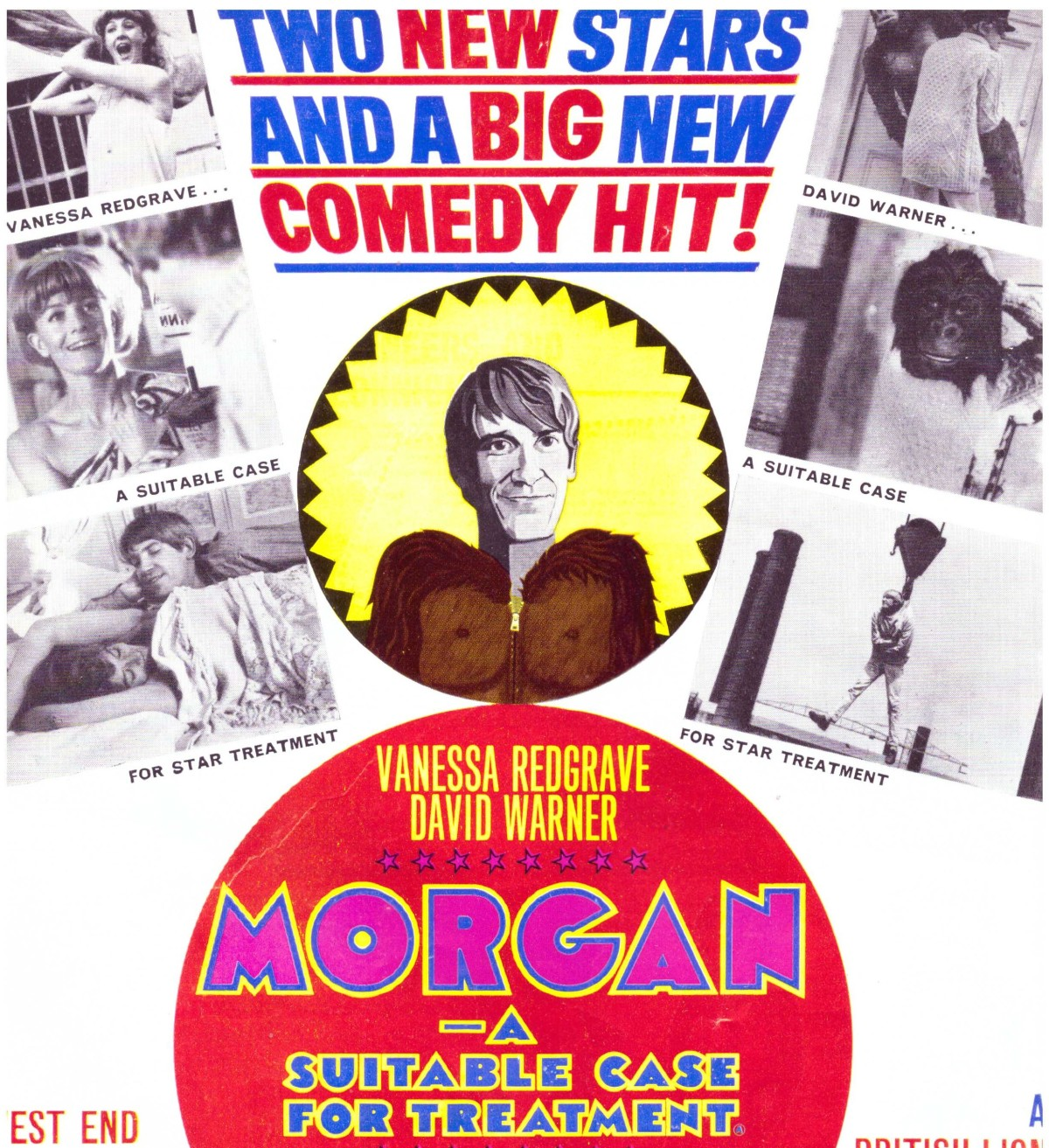 Morgan: A Suitable Case for Treatment / Morgan! (1966) ***
