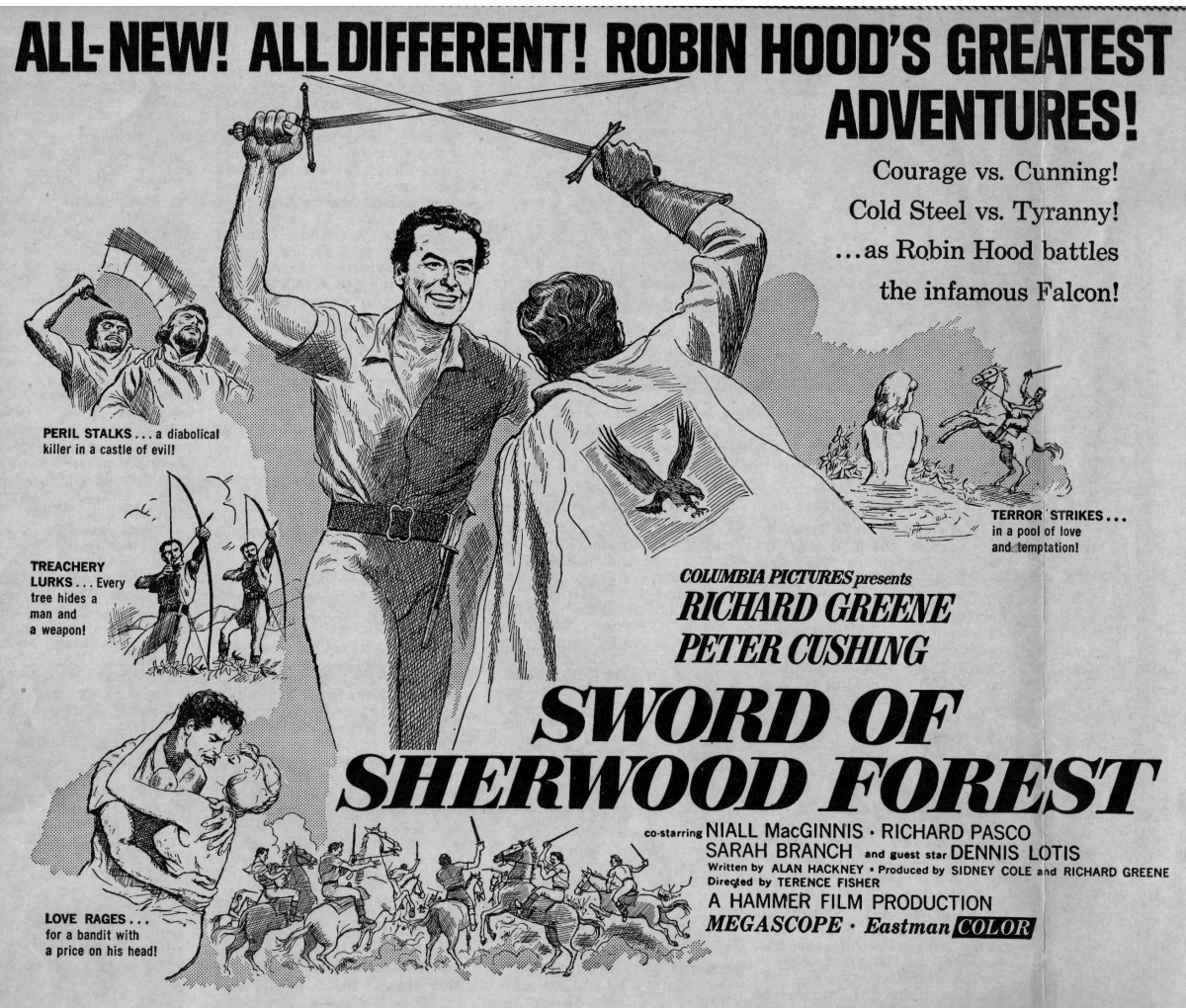 Sword of Sherwood Forest (1961) ***