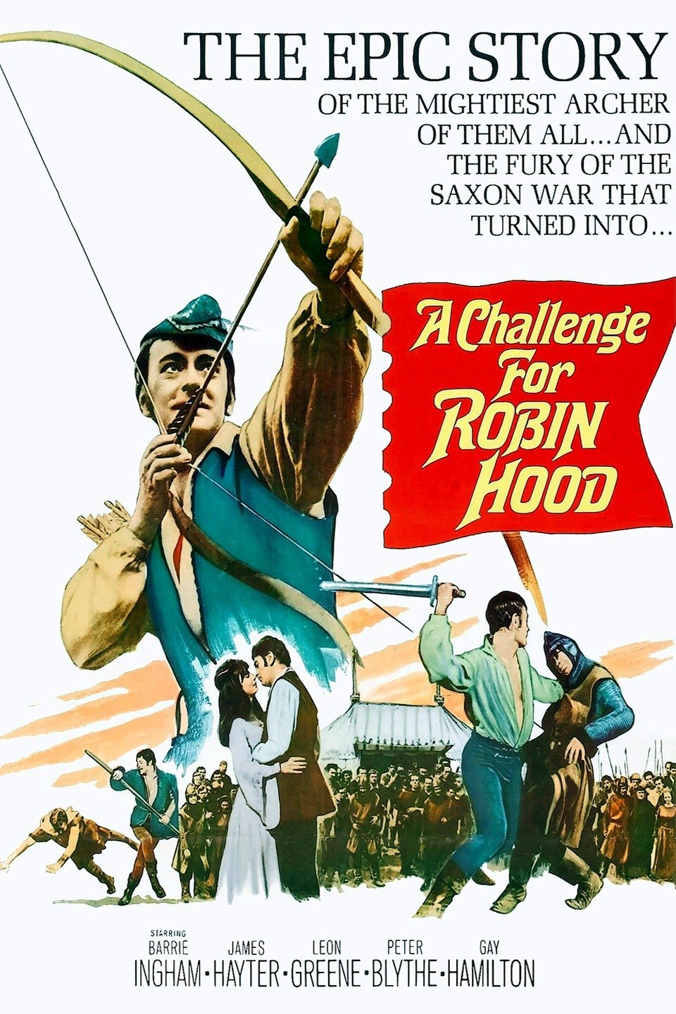 A Challenge for Robin Hood (1967) ***