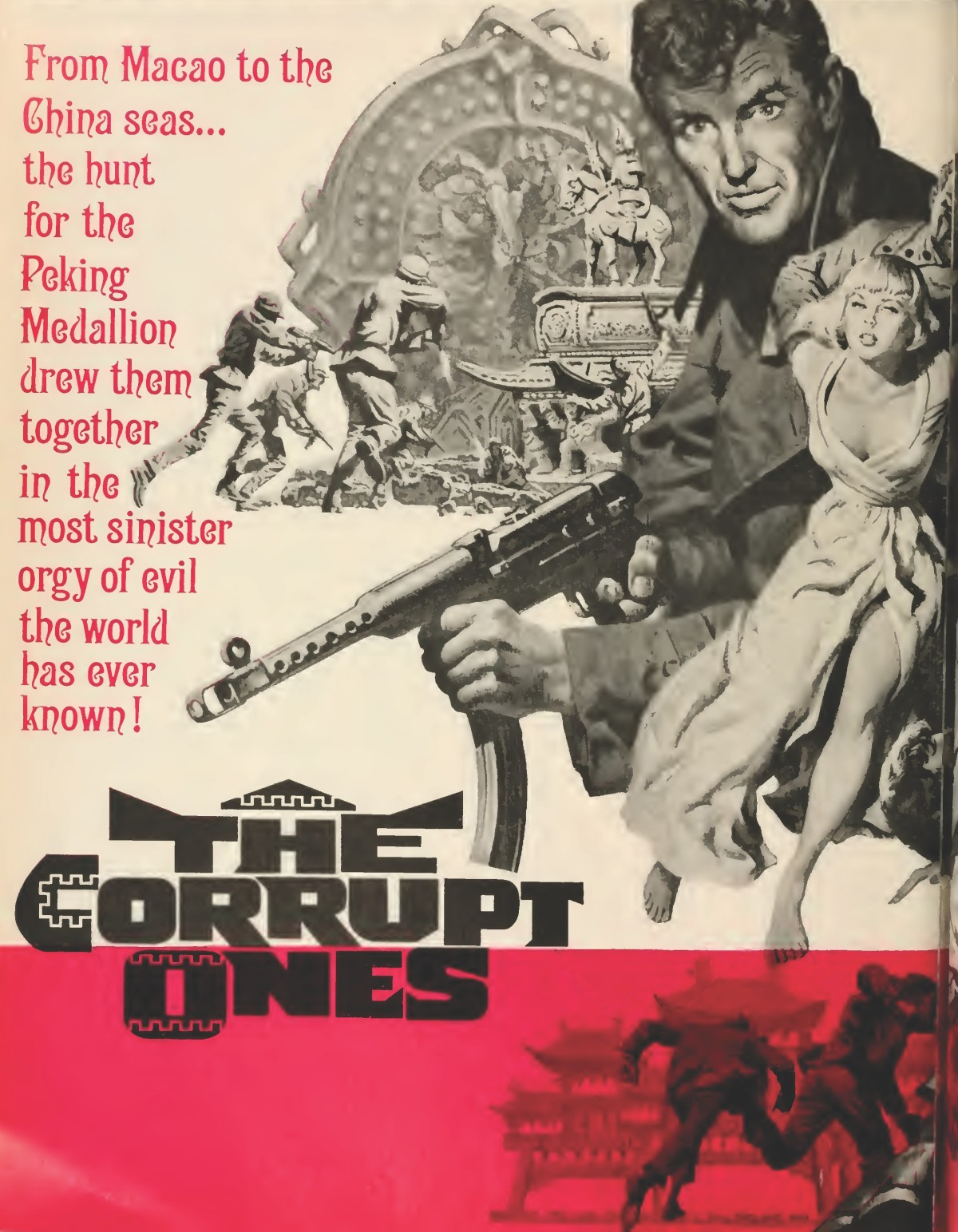 The Corrupt Ones / The Peking Medallion (1967) ****