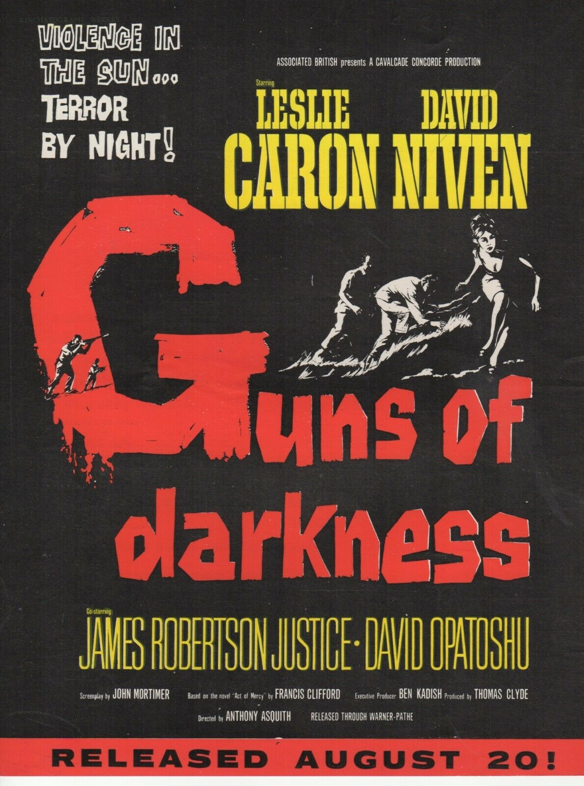 Guns of Darkness (1962) ***