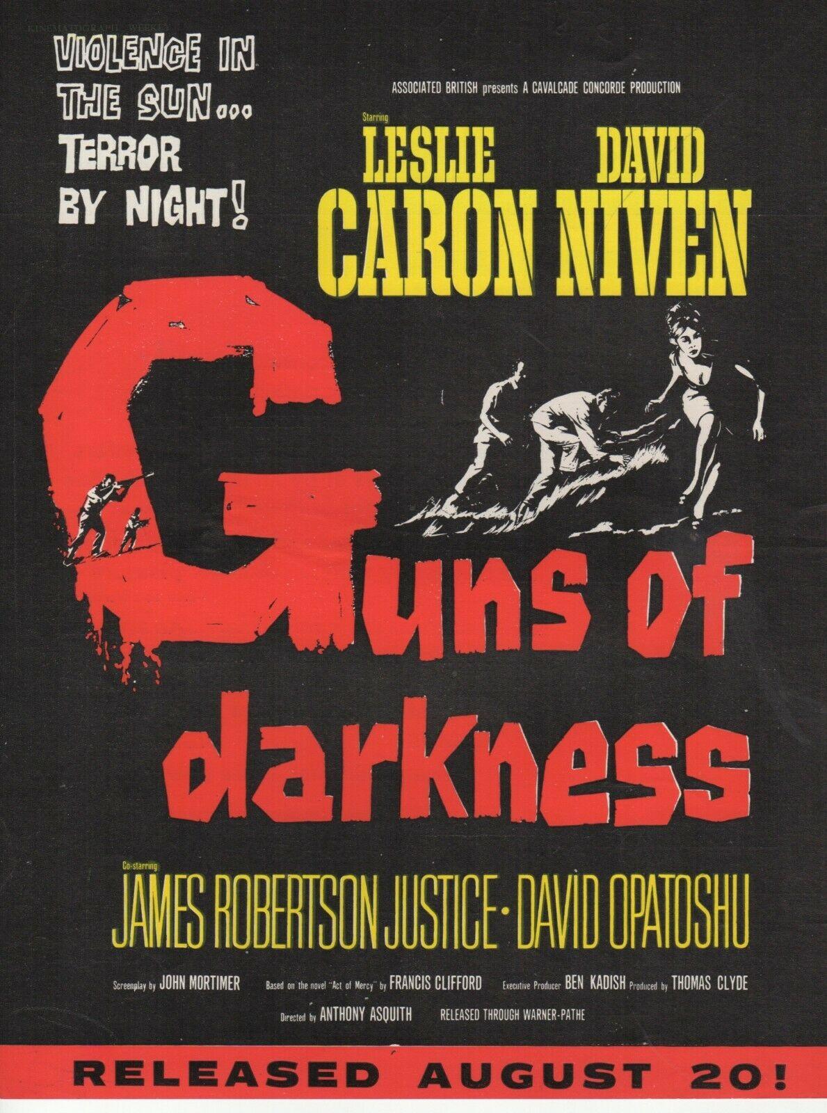 Guns of Darkness (1962)***