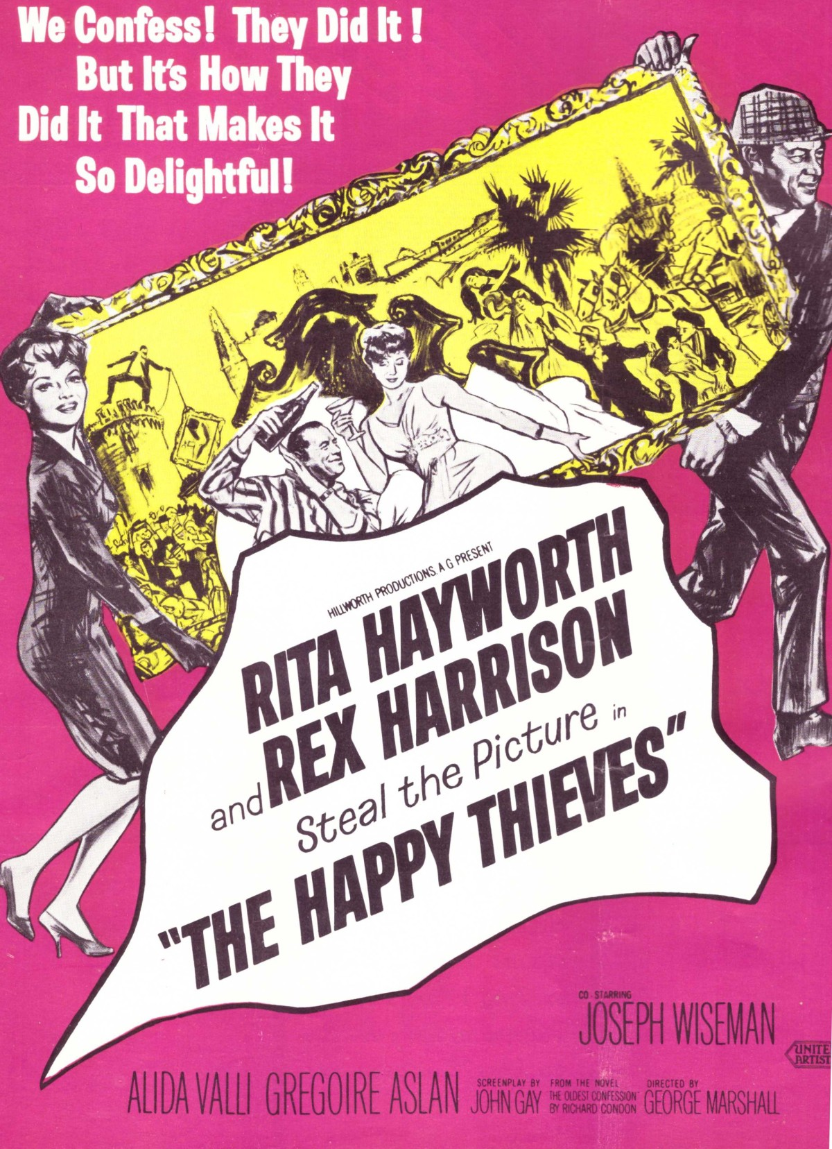 The Happy Thieves (1962) ****