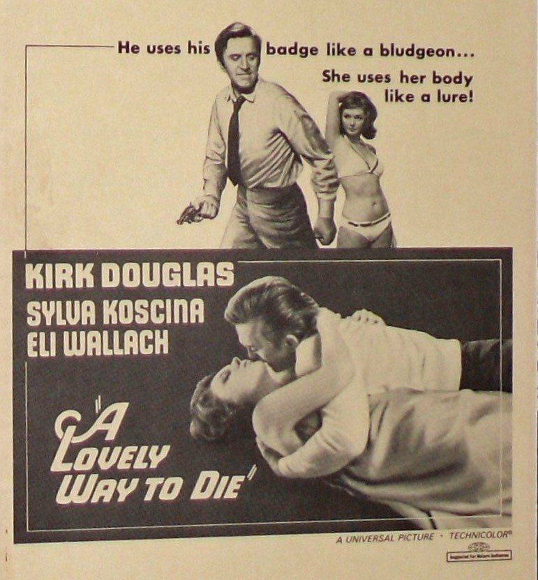 A Lovely Way To Die/A Lovely Way To Go (1968) ****
