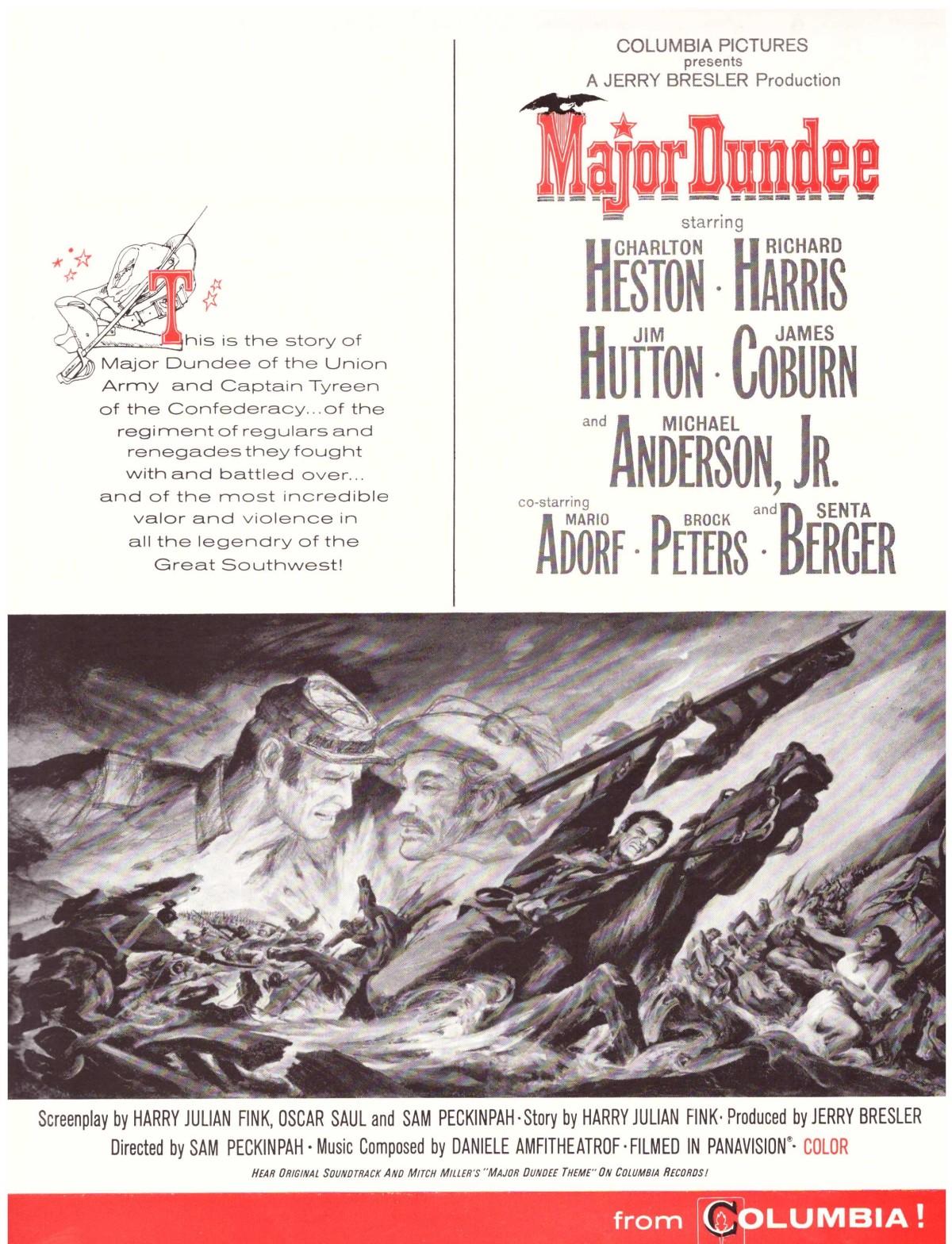 Major Dundee (1965)***