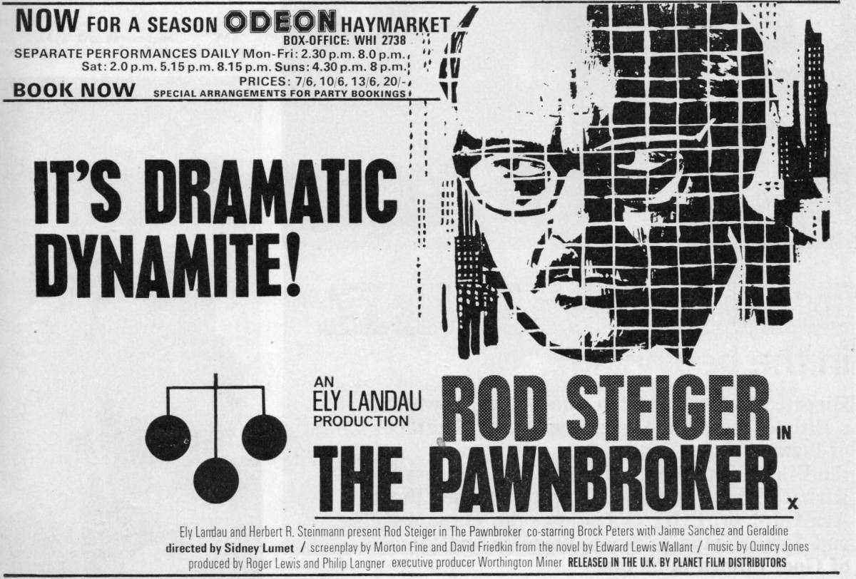 The Pawnbroker (1964) *****