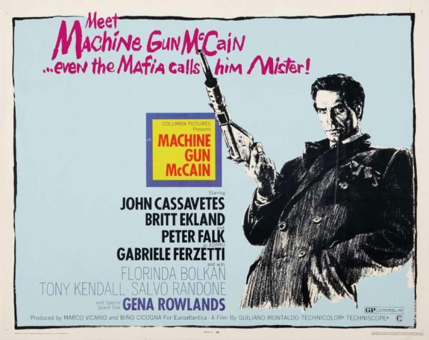 Machine Gun McCain (1969)***
