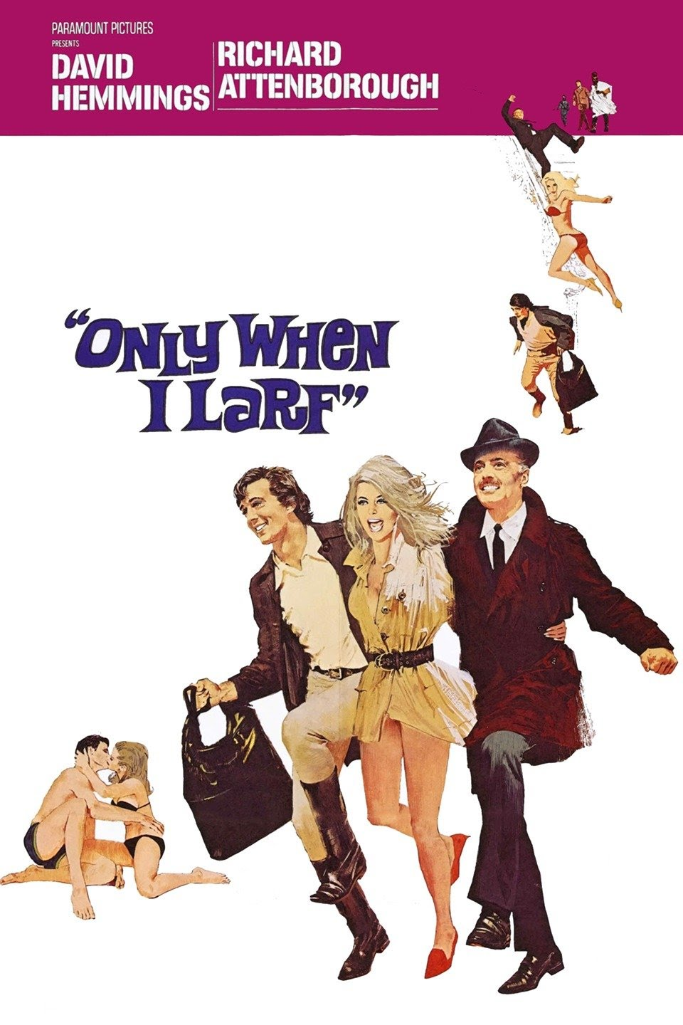 Only When I Larf (1968) ***