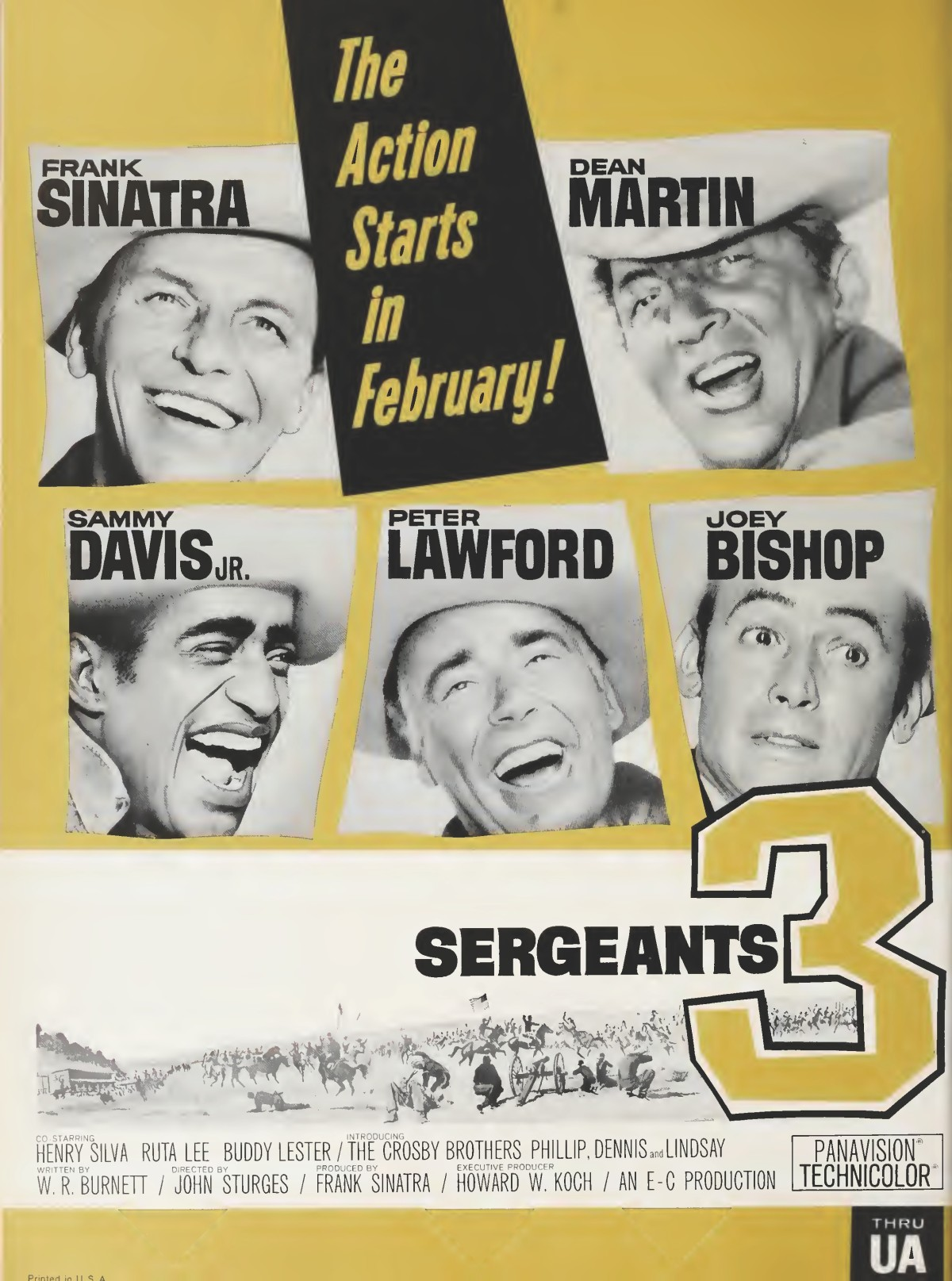 Sergeants 3 (1962)***
