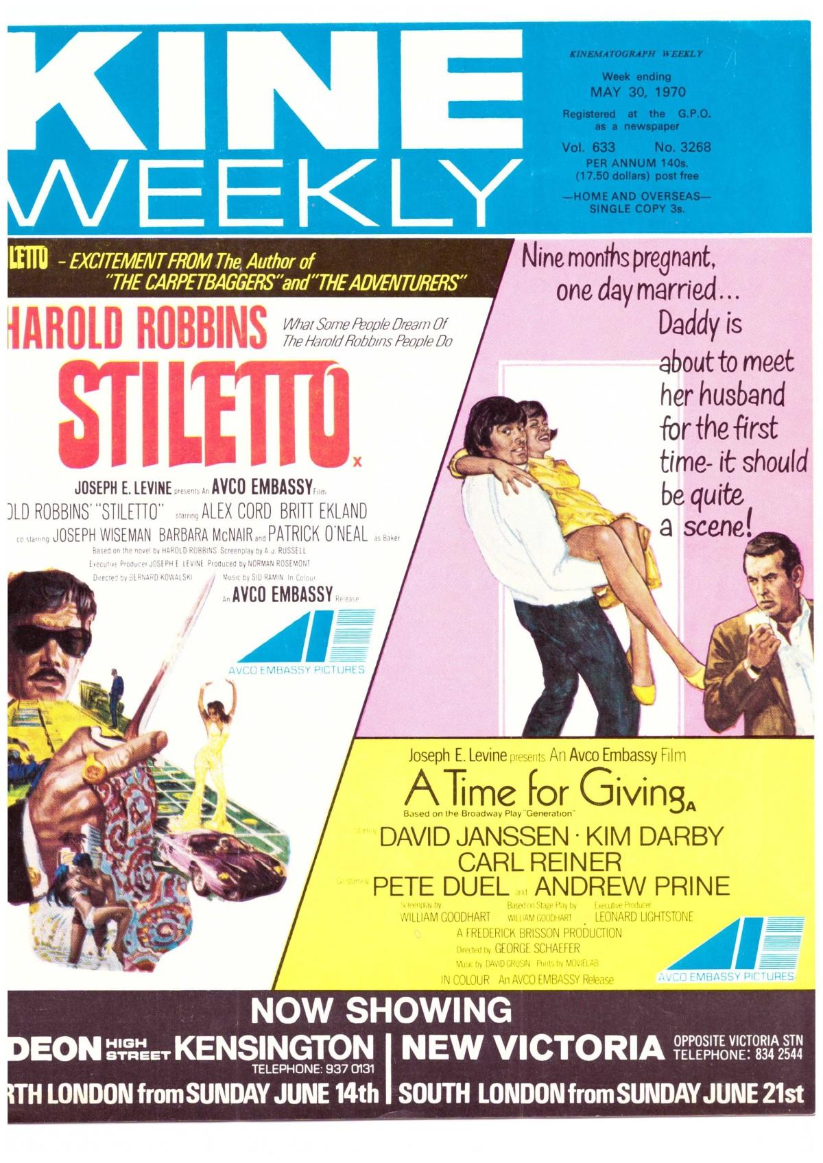 Stiletto (1969) ***