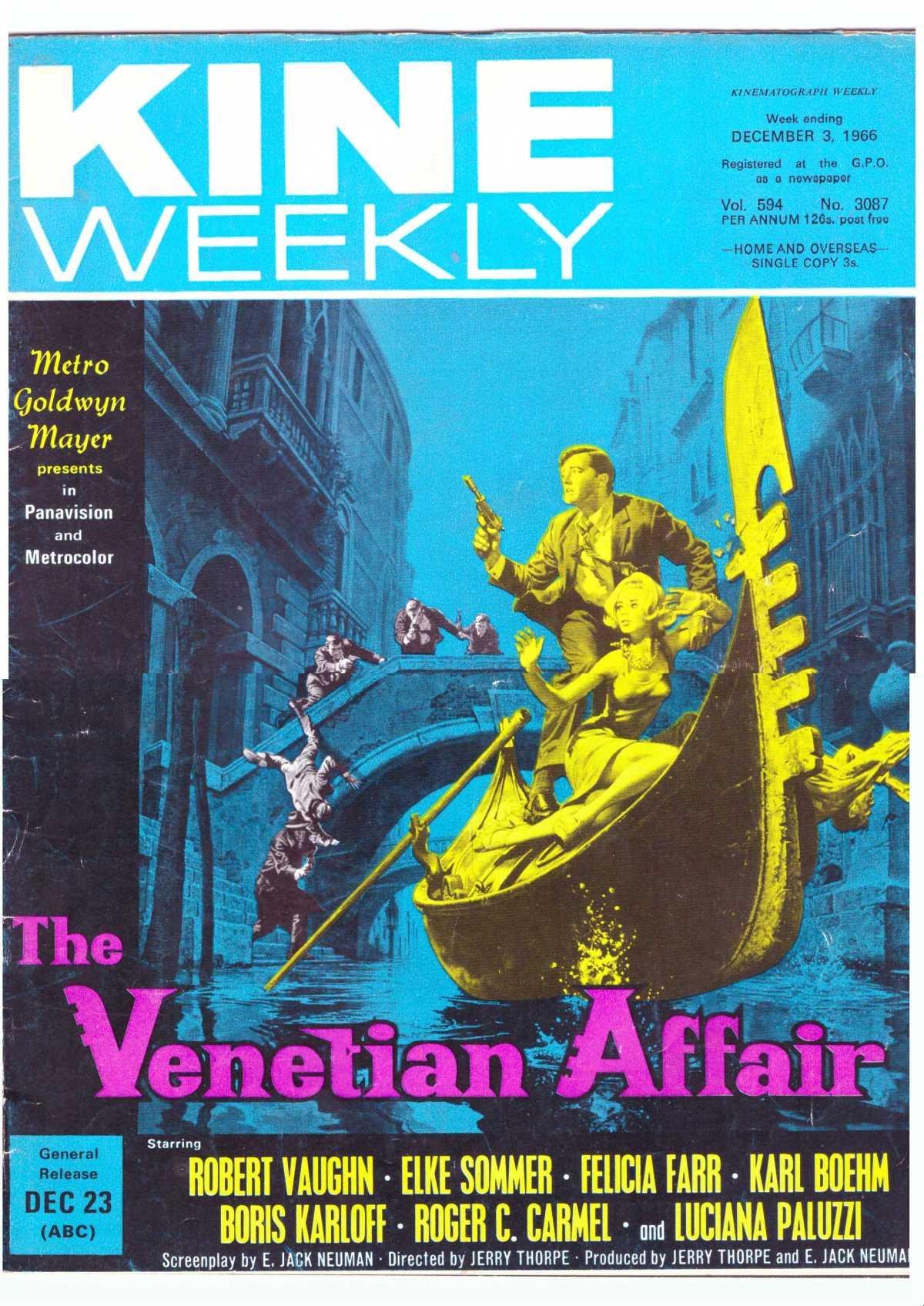 The Venetian Affair (1966)****