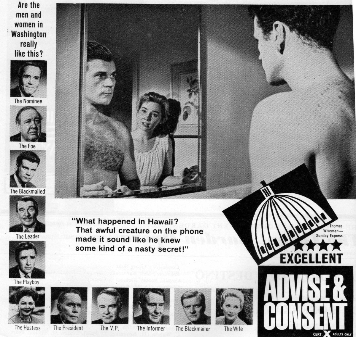 Advise and Consent (1962)****