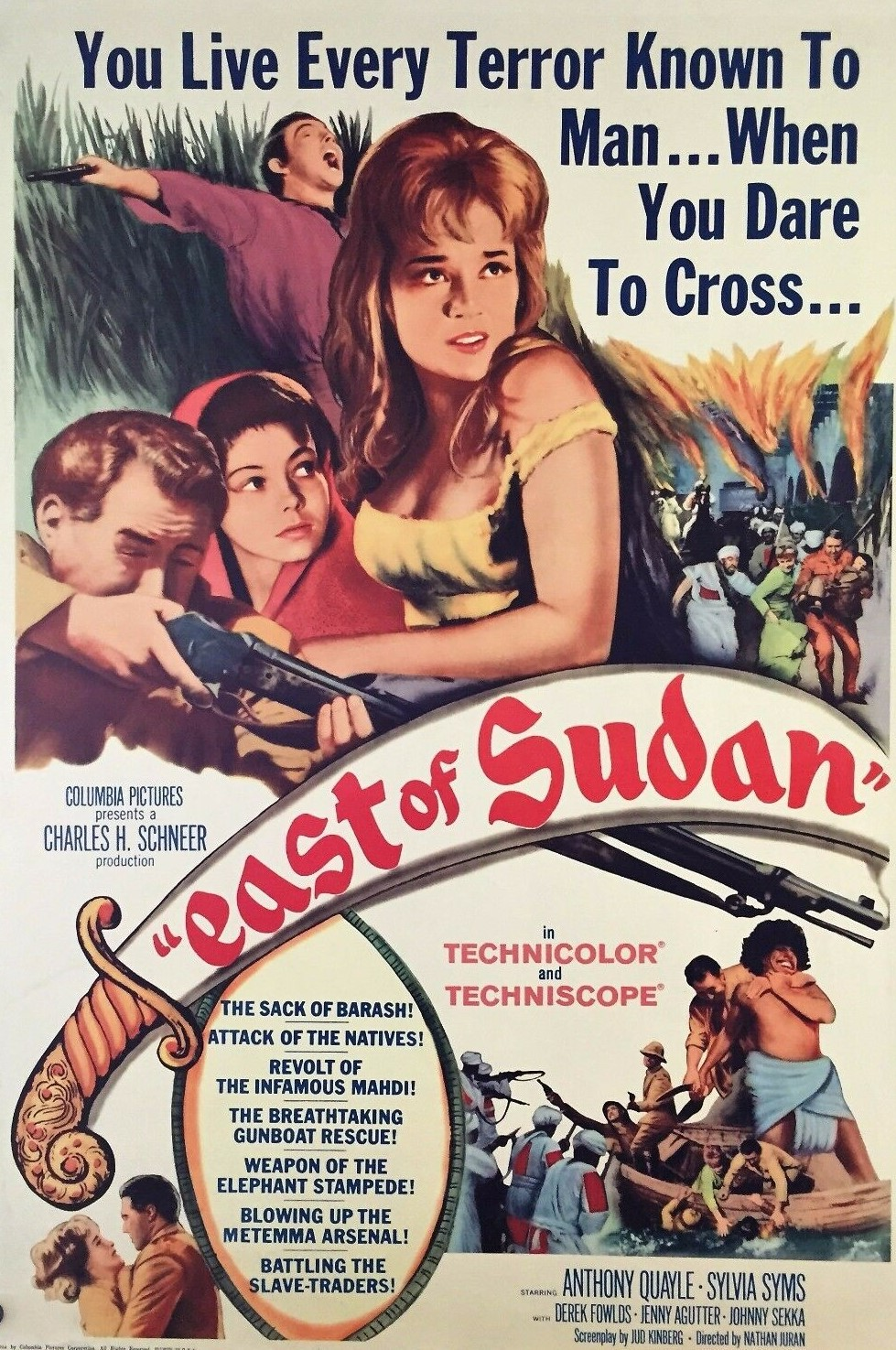 East of Sudan (1964) ***