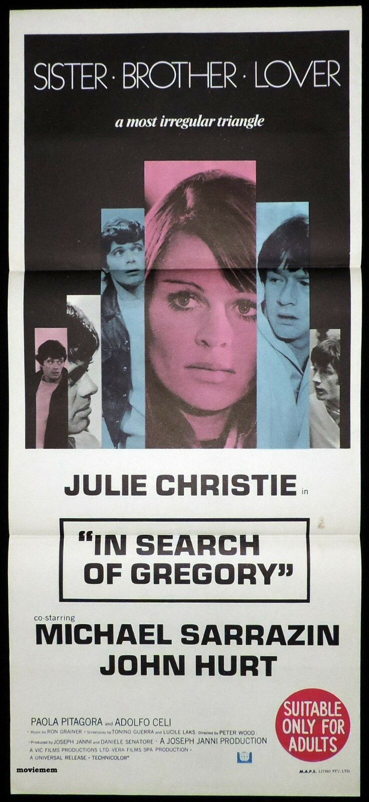 In Search of Gregory (1969) ****
