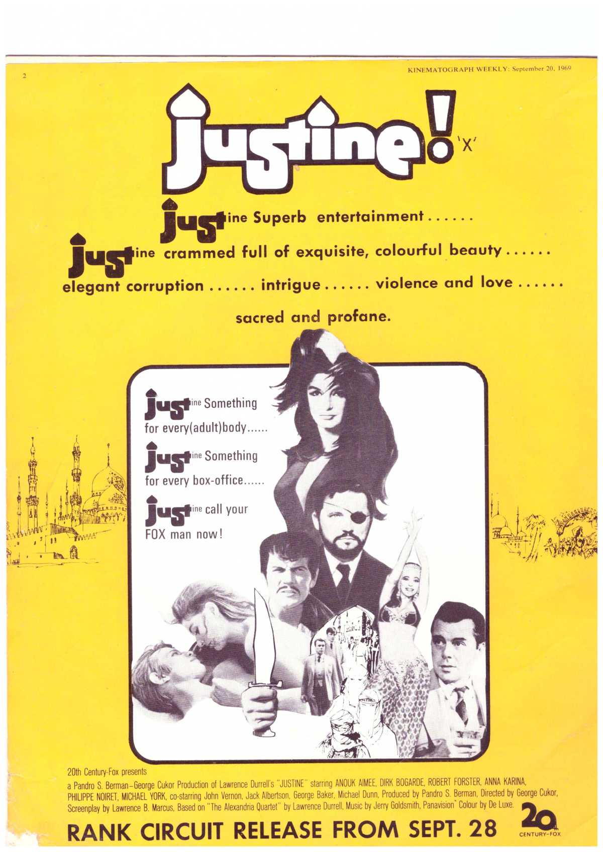 Justine (1969) **
