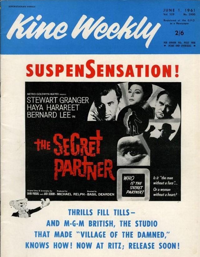 The Secret Partner (1961)****
