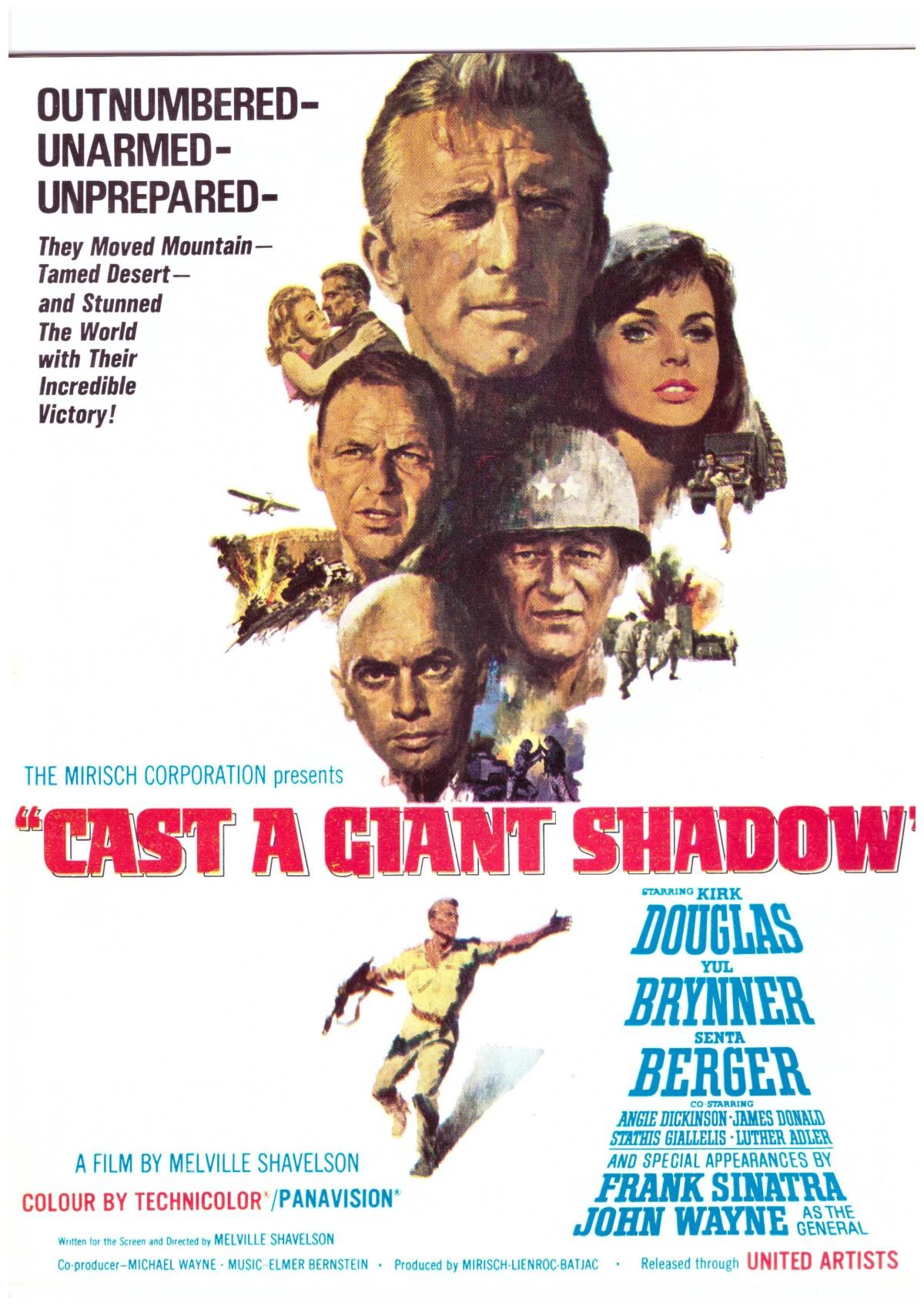 Cast a Giant Shadow (1966)***