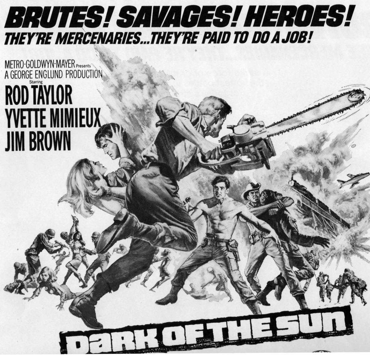 """Selling Tough Guys – The Pressbook for """"Dark of theSun"""""""