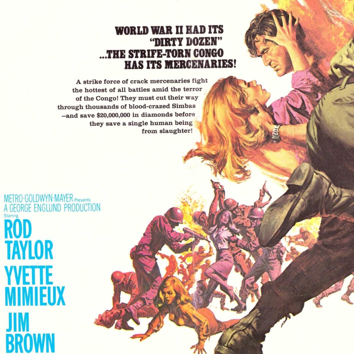 Dark of the Sun / The Mercenaries (1968)****