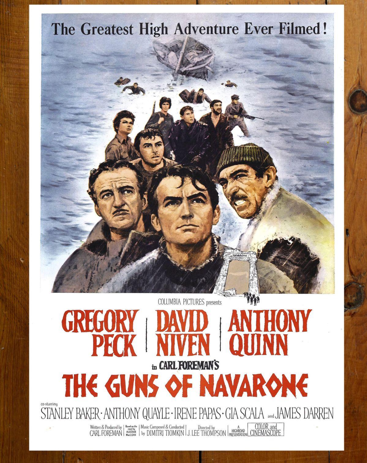 "Behind the Scenes: ""The Guns of Navarone""(1961)"