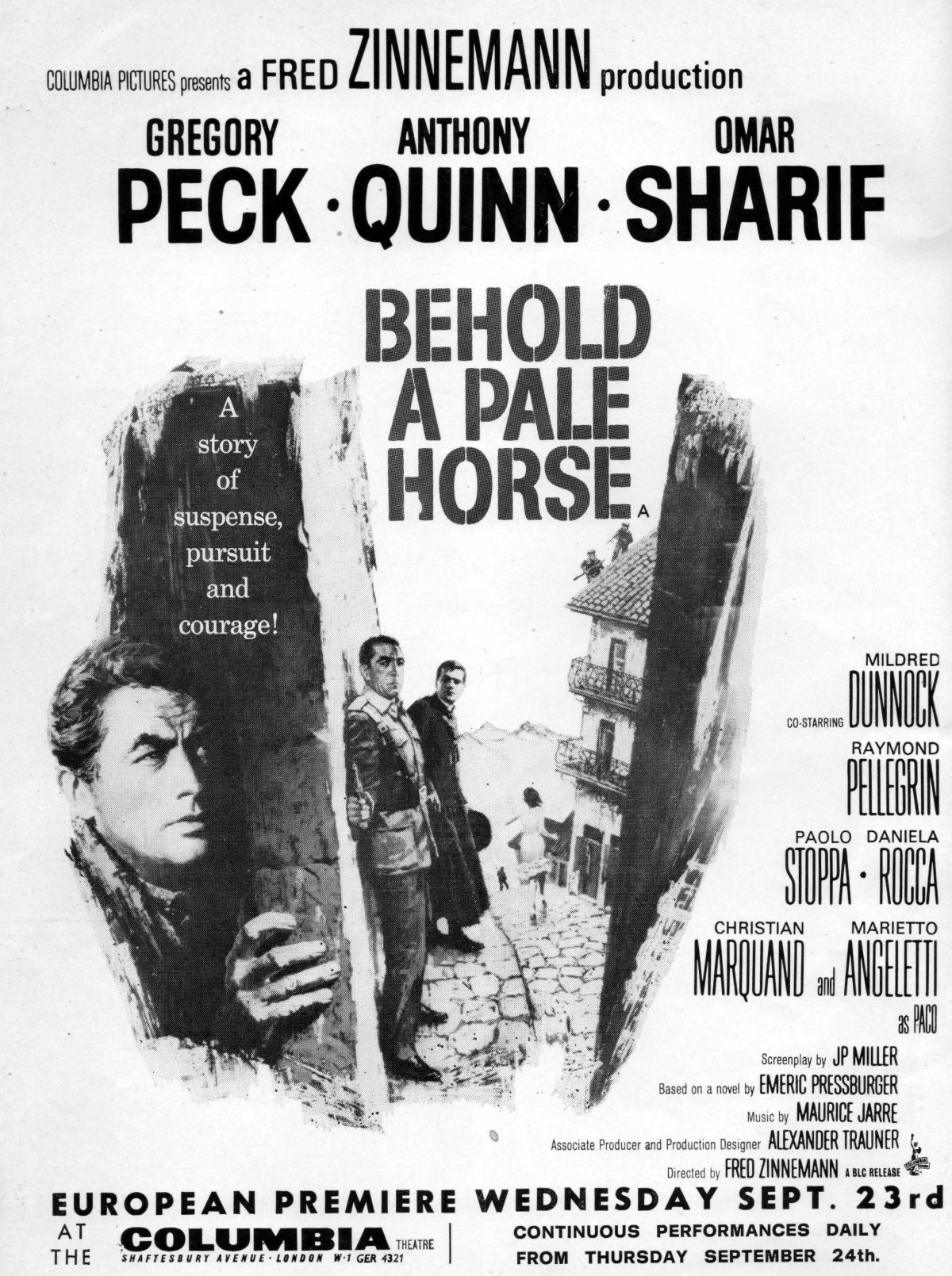 Behold a Pale Horse (1964)***