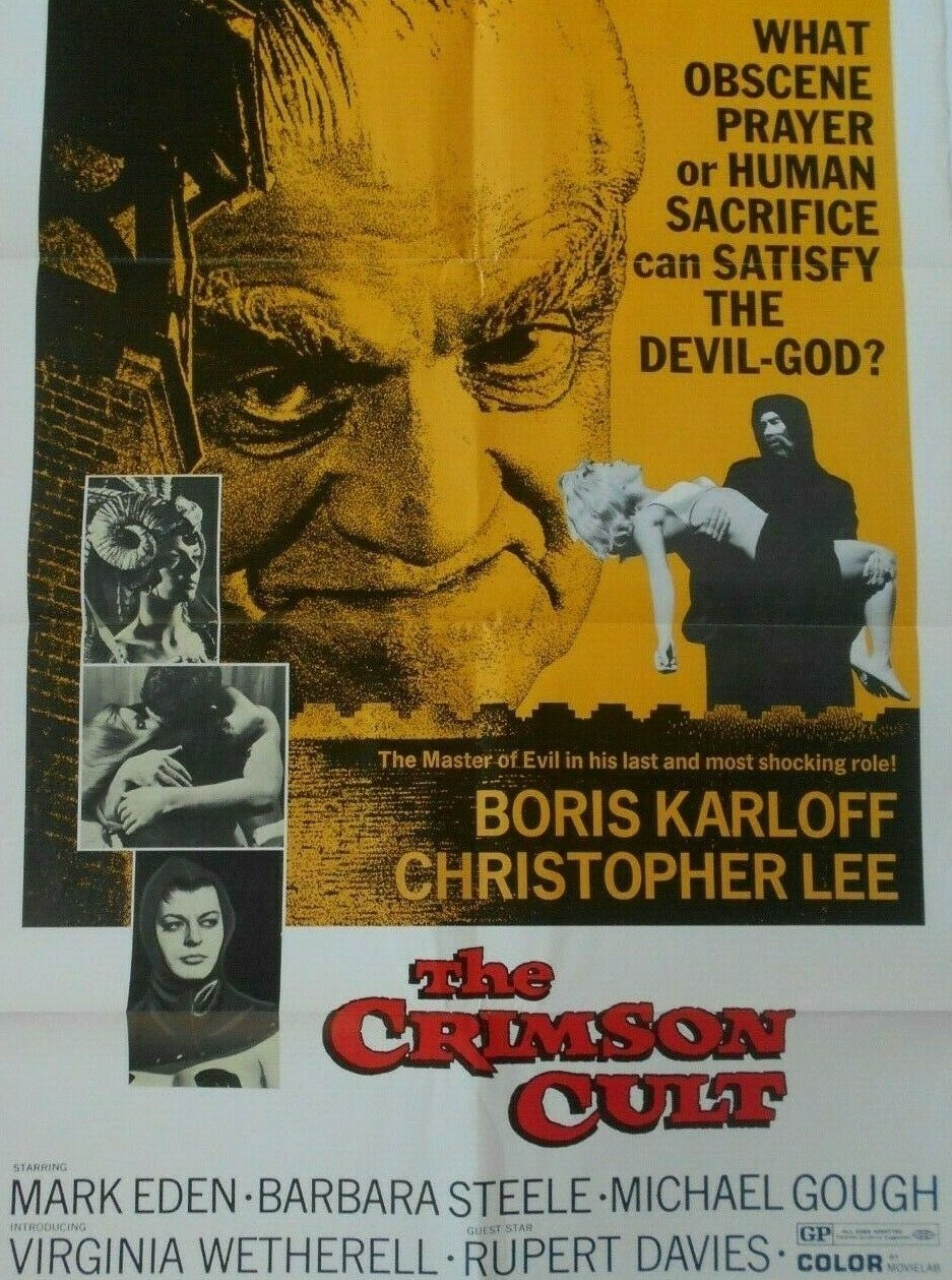 The Crimson Cult/ Curse of the Crimson Altar (1968)***
