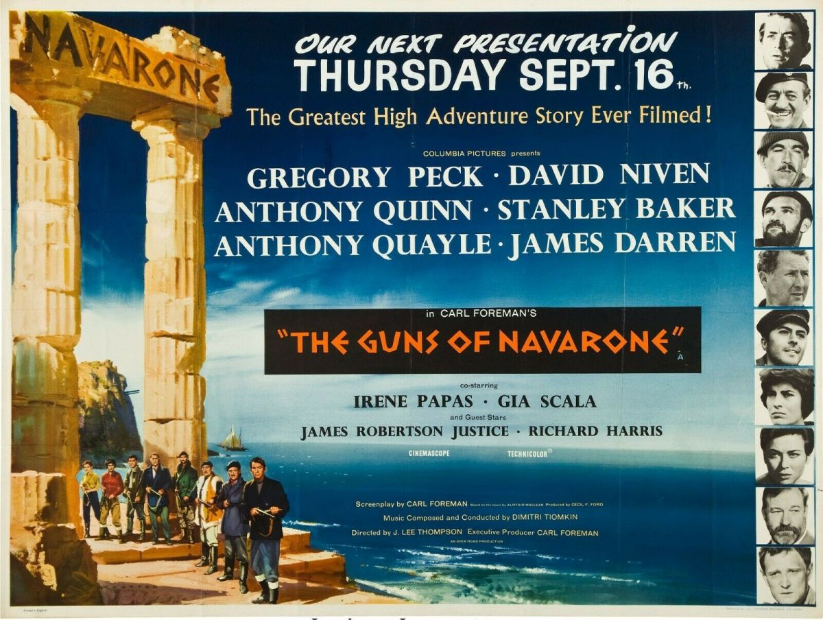 The Guns of Navarone (1961)*****