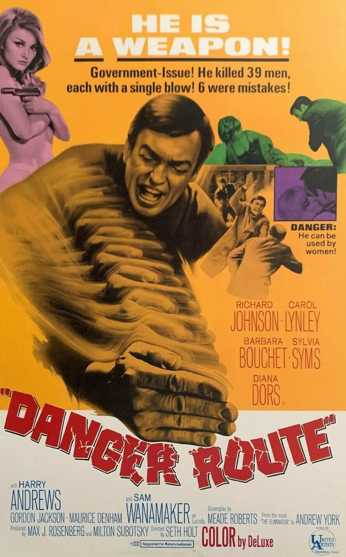 Danger Route (1967)***