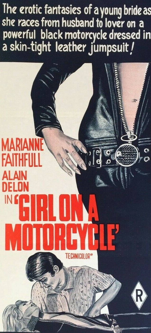 The Girl on a Motorcycle / Naked under Leather (1968)***