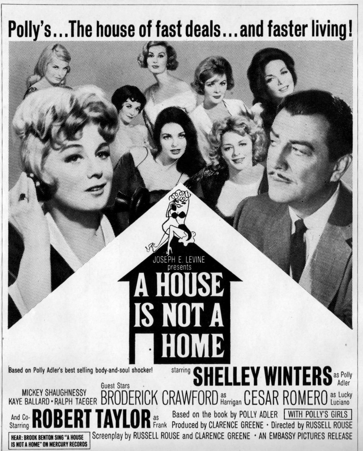 """Selling Sex – The Pressbook for """"A House Is Not a Home""""(1964)"""