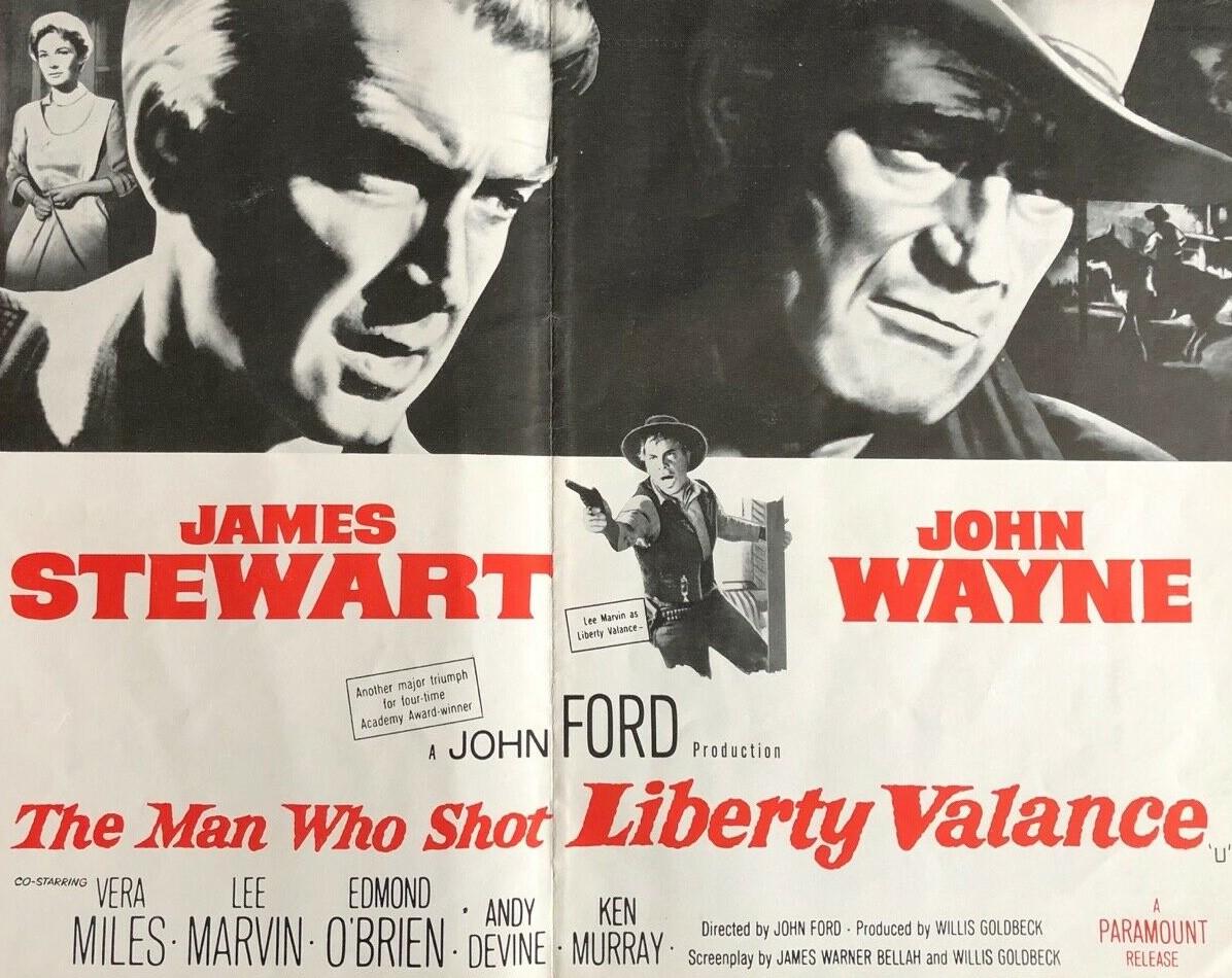 The Man Who Shot Liberty Valance (1962)*****
