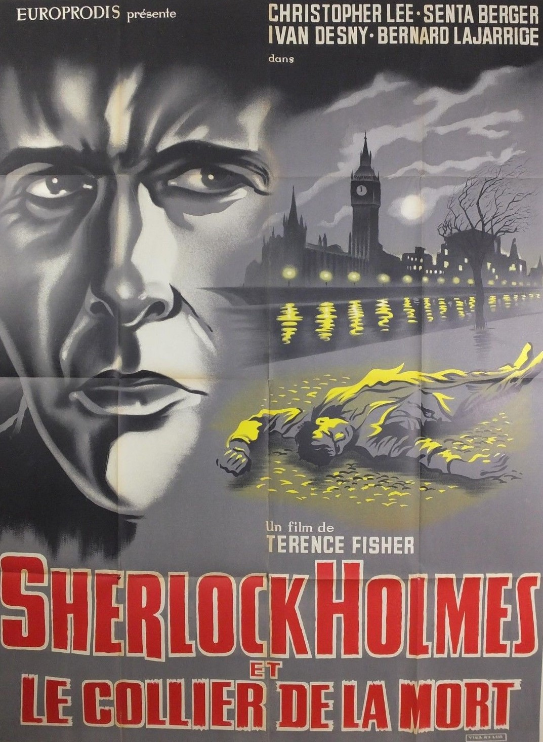 Sherlock Holmes and the Deadly Necklace (1962)**
